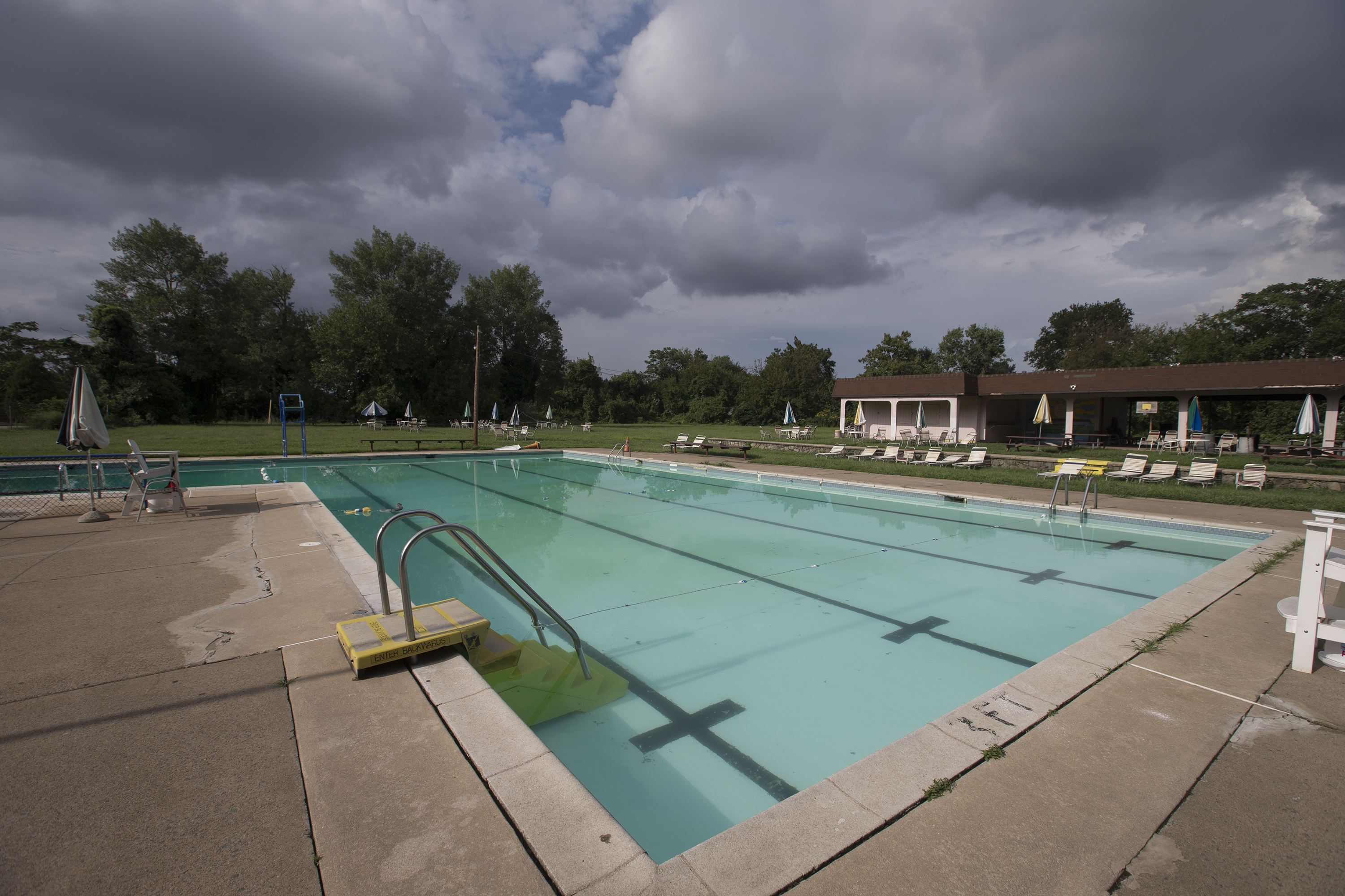 The Nile Swim Club, on Sept. 12, 2018.