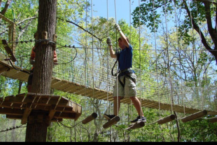 A Treetop Quest location in Atlanta.