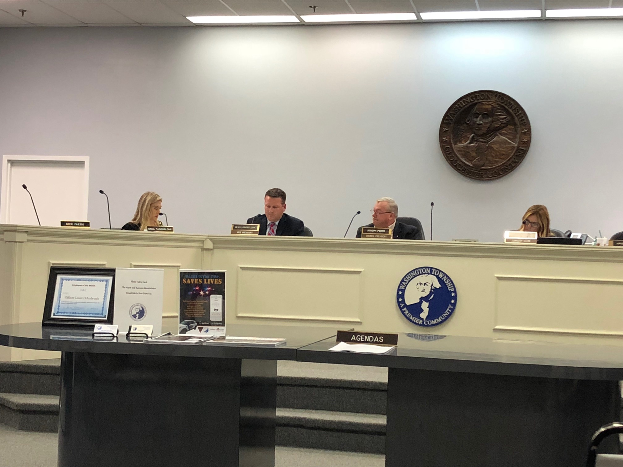 Washington Township Council has adopted an ordinance that allows residents to sign up for a Do Not Knock registry to prohibit canvassing at their homes in the Gloucester County community. Staff/Melanie Burney