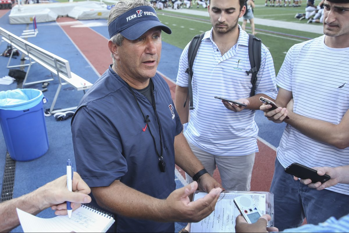 Penn football coach Ray Priore is on board with the latest safety measures in his sport.