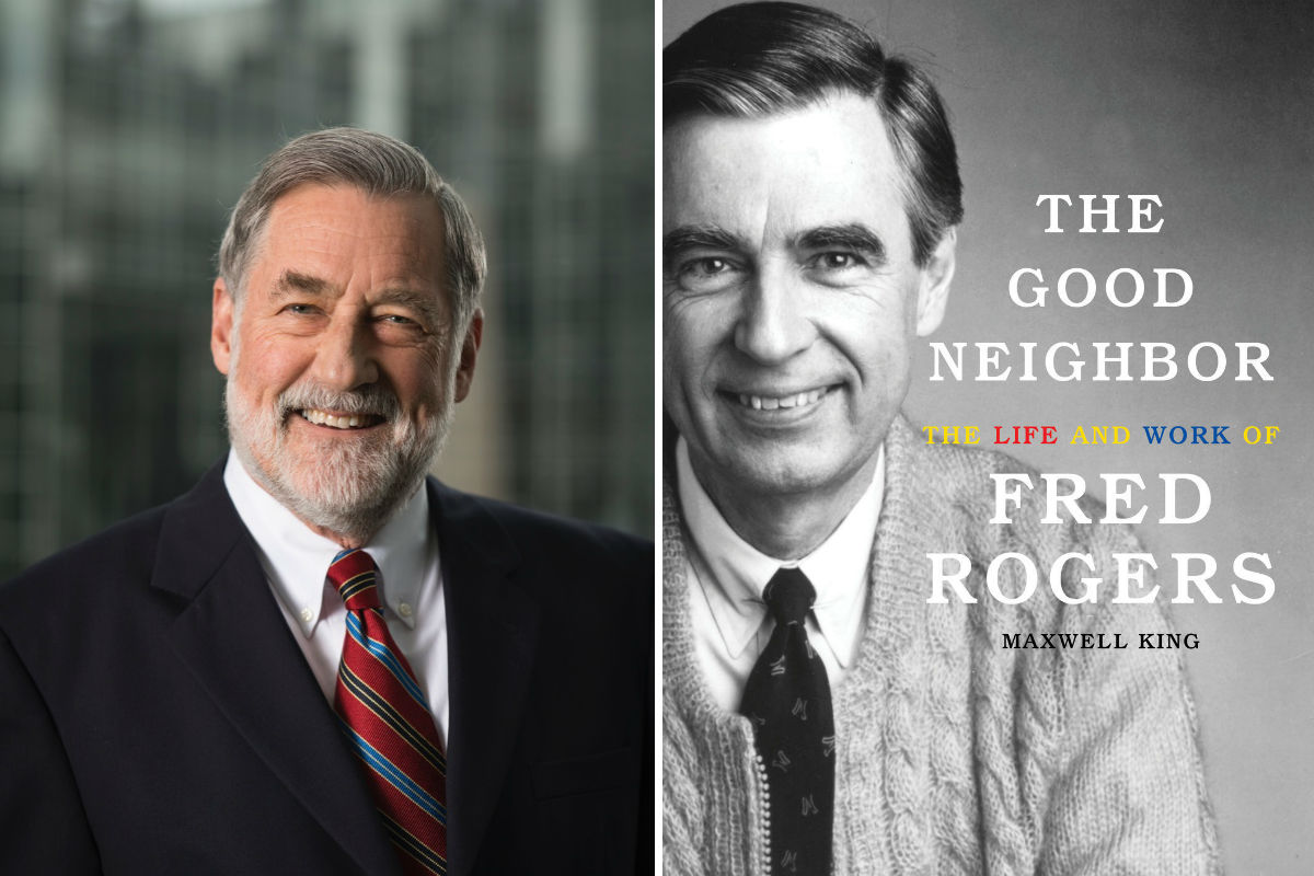 "Maxwell King, author of ""The Good Neighbor,"" the first biography of Fred Rogers."