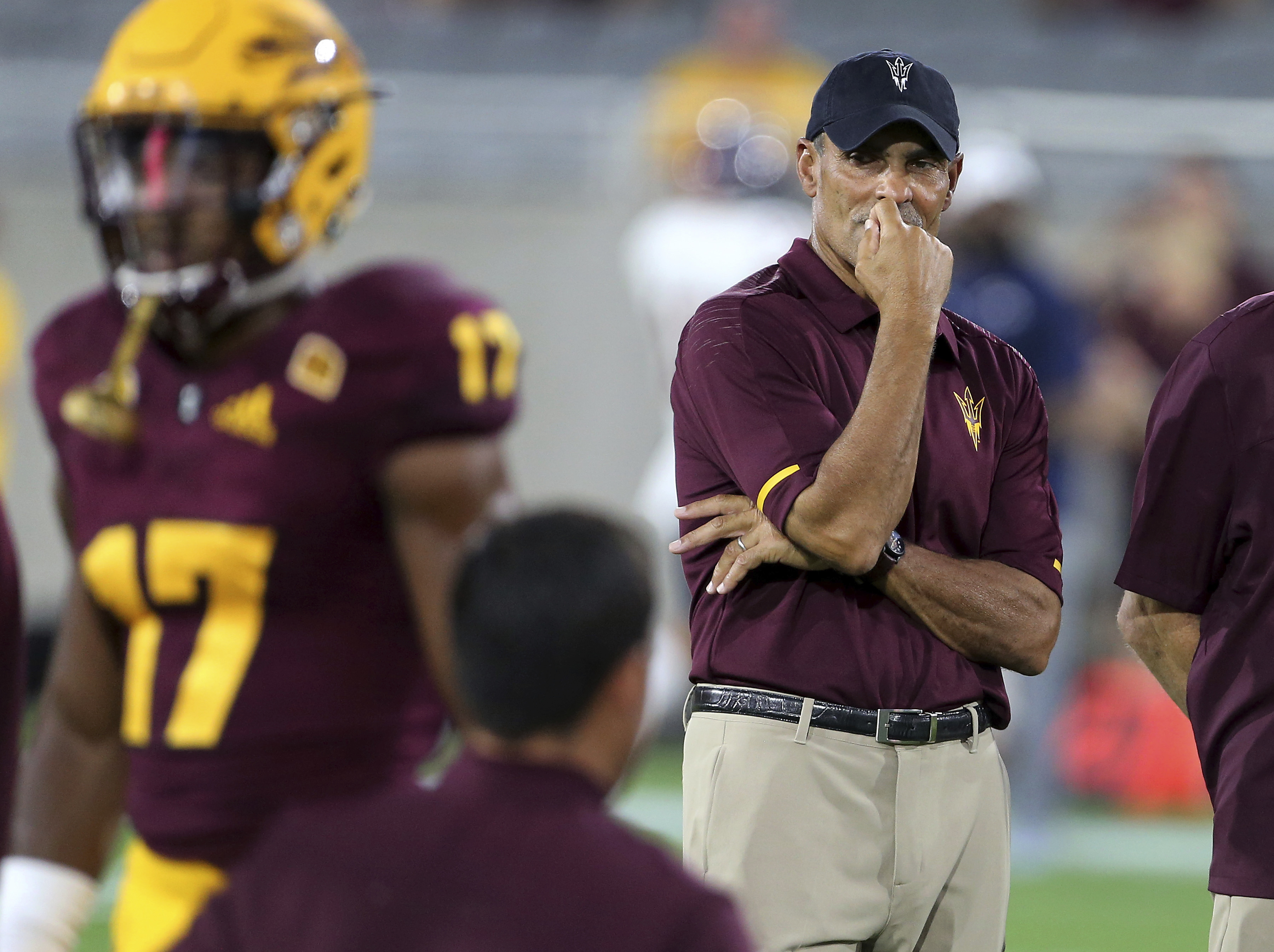 Herm Edwards is a surprising 2-0 at Arizona State.