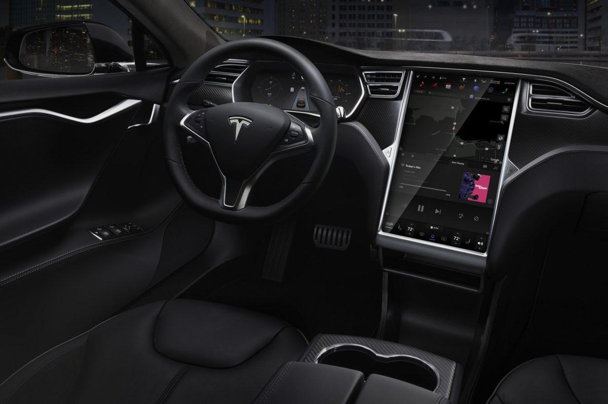 Autopilot, the driver-assist system for the Tesla Model S.