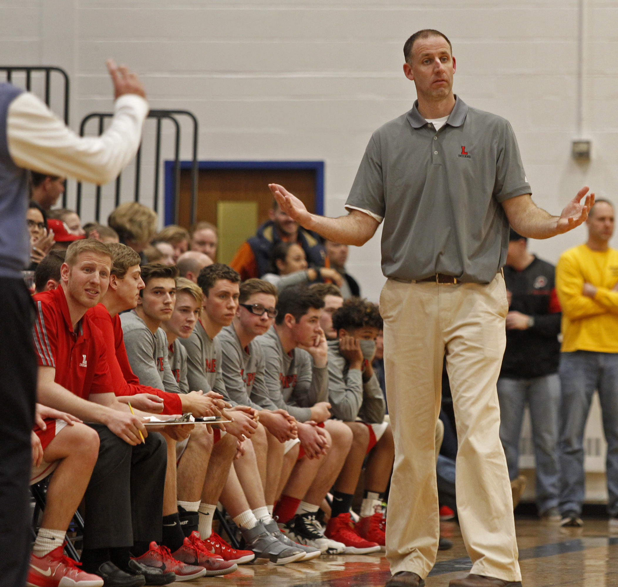 Lenape coach Chuck Guittar´s teams were known for their patient offense and strong defense.