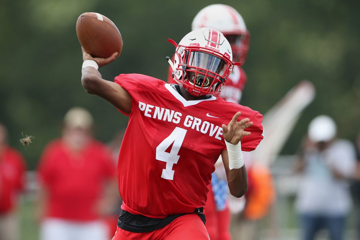 Kavon Lewis and Penns Grove beat Paulsboro at home on Saturday, 19-6.