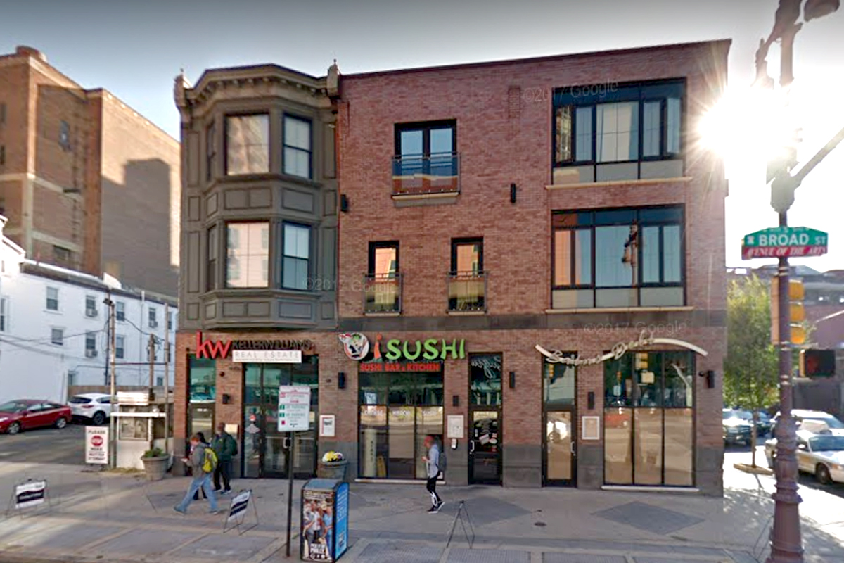 Location of I Sushi, 425 S Broad St.
