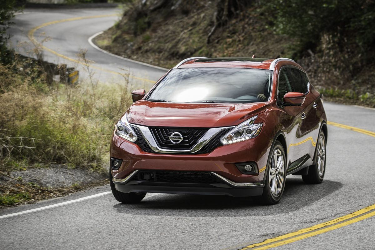 The Nissan Murano's handling was lethargic, and the vehicle  wanted to sway through even gentle curves.