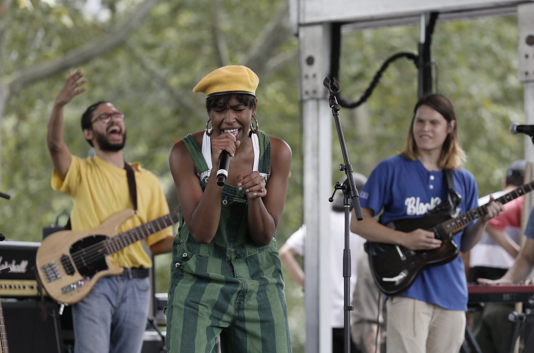 Orion Sun performs on the Skate Stage during the 2018 Budweiser Made in America Festival on the Ben Franklin Parkway in Phila., Pa. on Sept. 1, 2018. ELIZABETH ROBERTSON / staff photographer