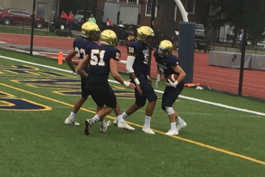 The Penn Charter football team rolled past Upper Dublin, 42-17, on Friday.