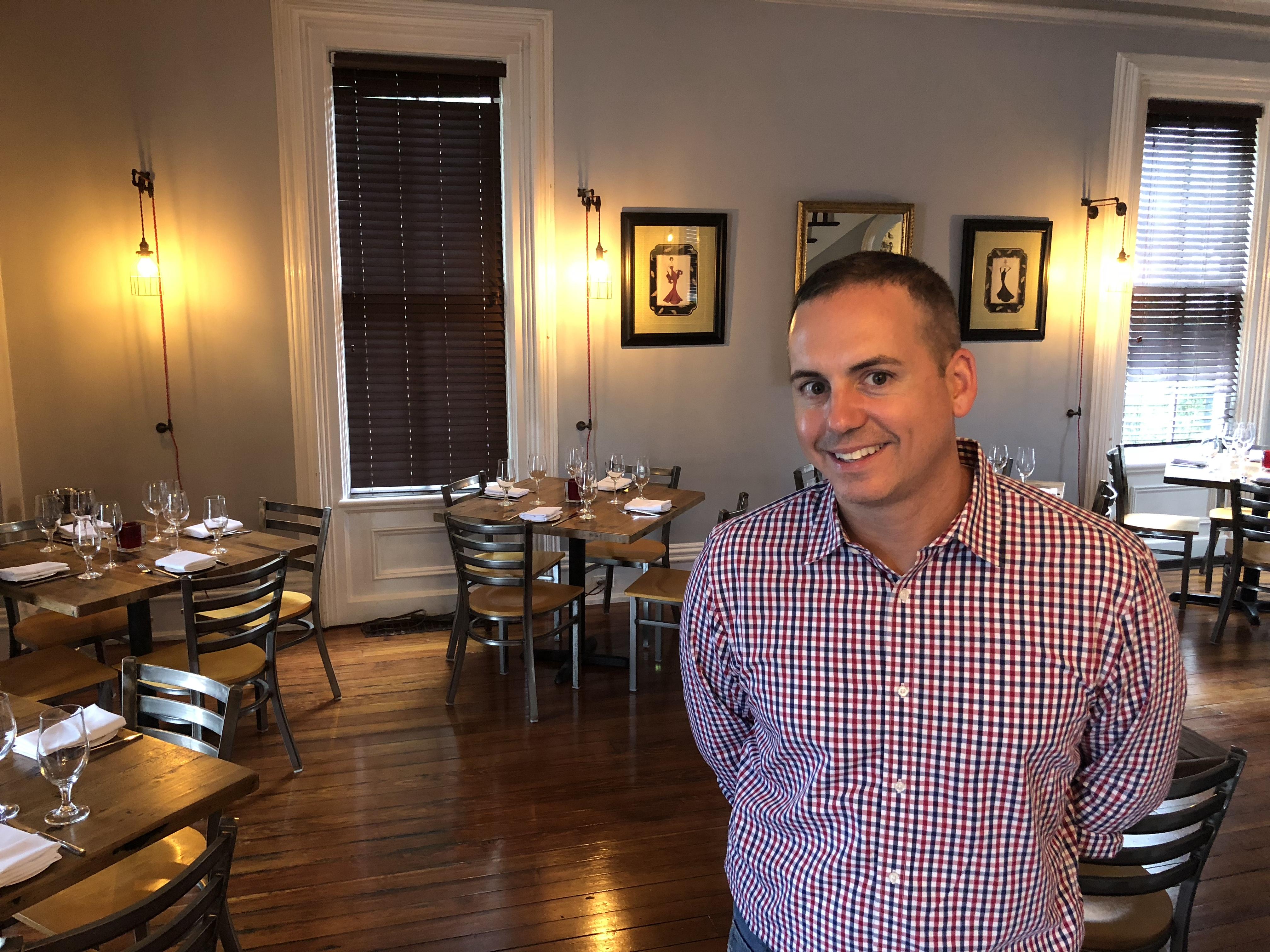 Chef Anthony Bucco at Felina, 9 S. Main St., New Hope.