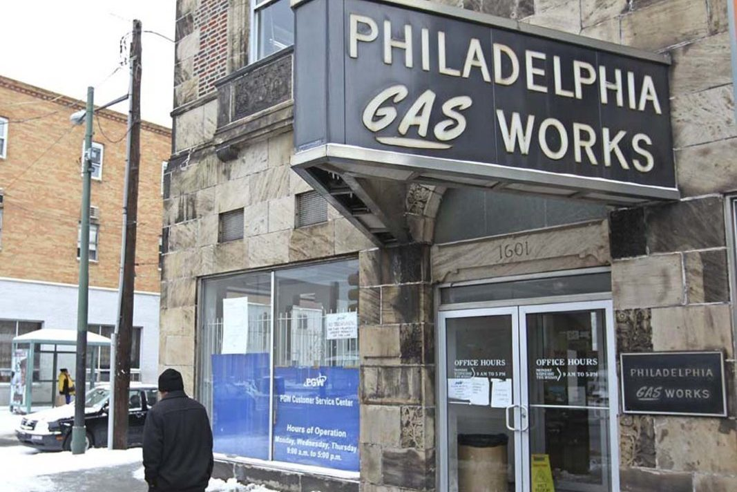 A Philadelphia Gas Works district office in South Philadelphia.