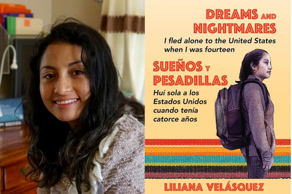 """Liliana Velásquez, author of """"Dreams and Nightmares/ Suenos y Pesadillas."""""""