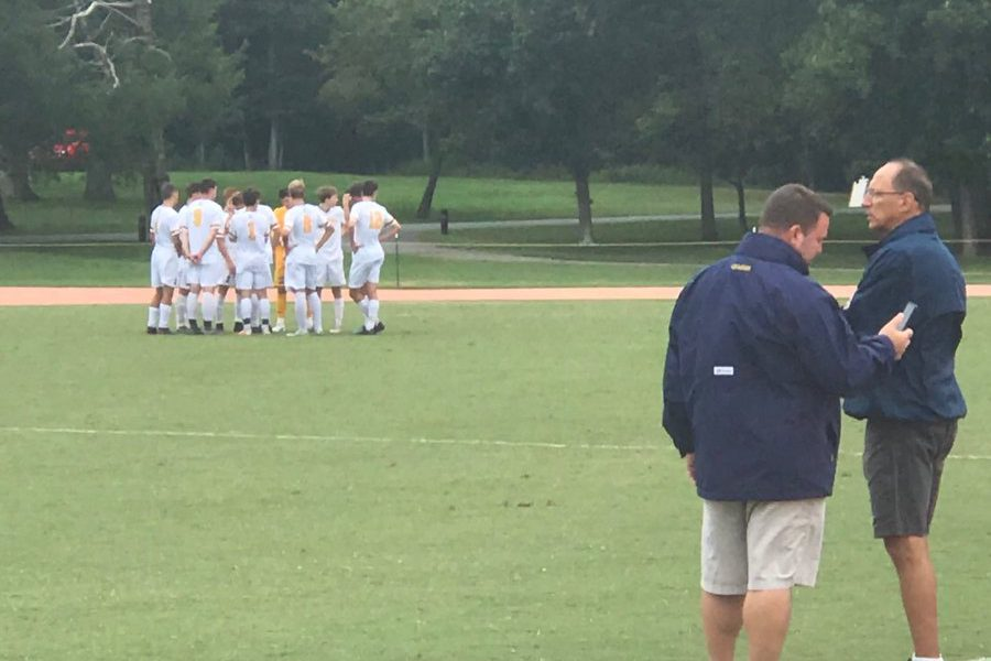 The Penn Charter boys' soccer team held off Council Rock South, 3-1, on Monday.