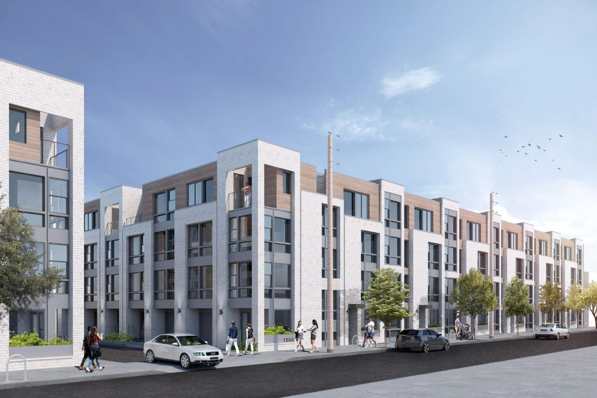 Project planned by Streamline Group at 1500-48 N. Randolph St. in the city�s Poplar section.