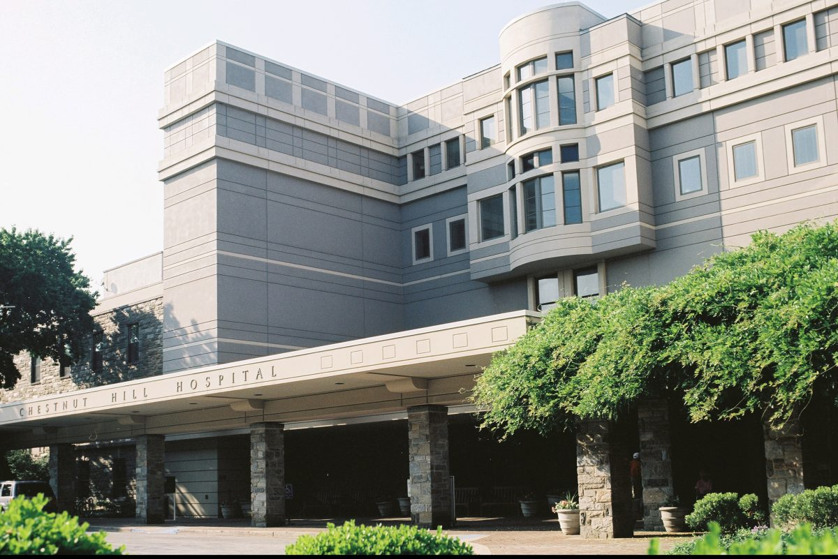 Chestnut Hill Hospital saw the area�s steepest drop in federal readmission penalties.