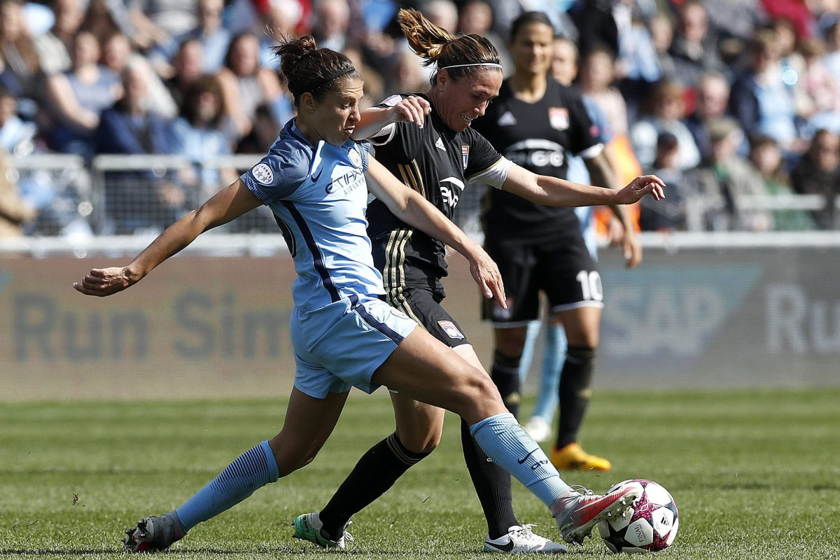 Carli Lloyd's time with Manchester City included helping the English club reach the semifinals of the UEFA Women's Champions League.
