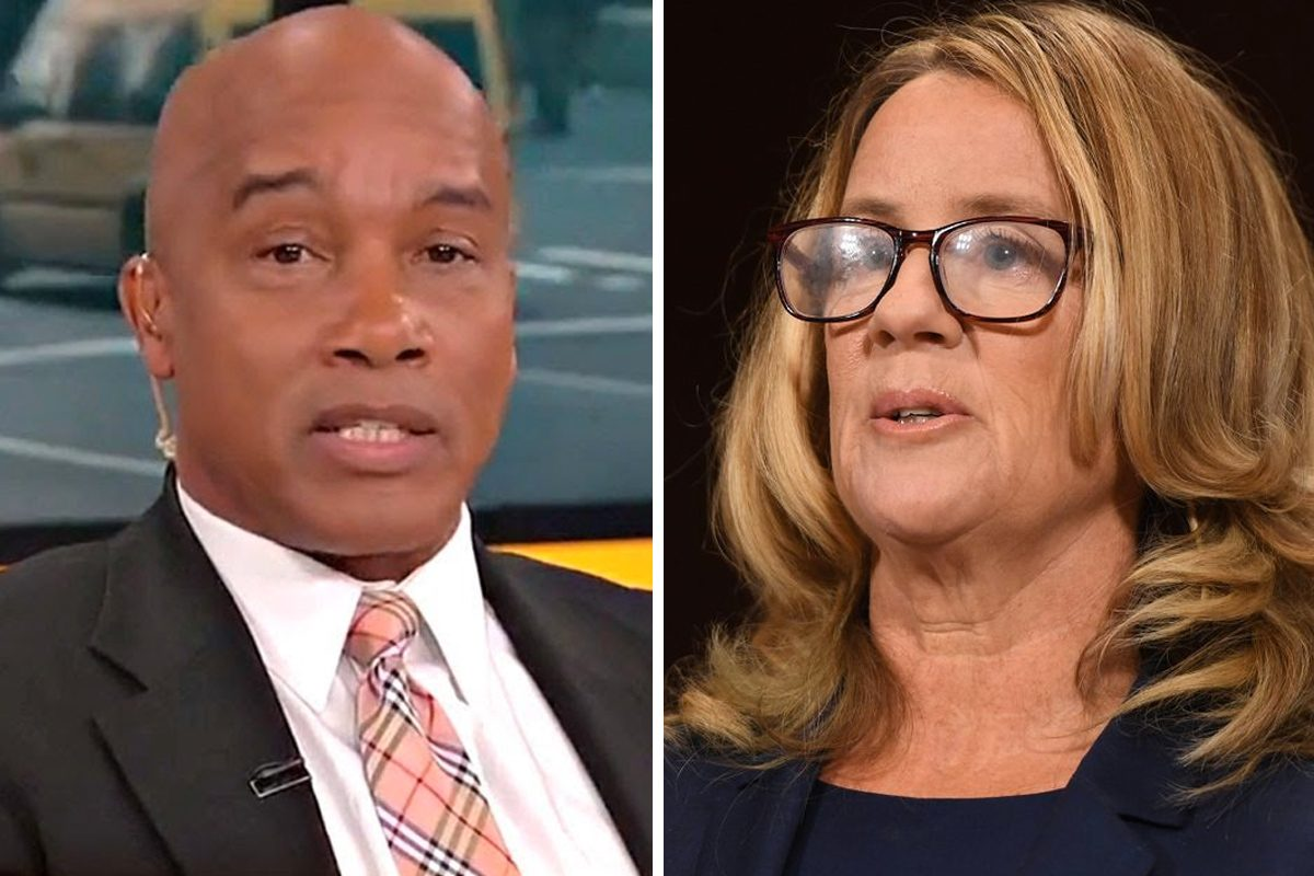 Fox News fired contributor and frequent guest host Kevin Jackson for comments he wrote on Twitter about Christine Blasey Ford, who testified that Supreme Court nominee Brett Kavanaugh sexually assaulted her during a high school party.