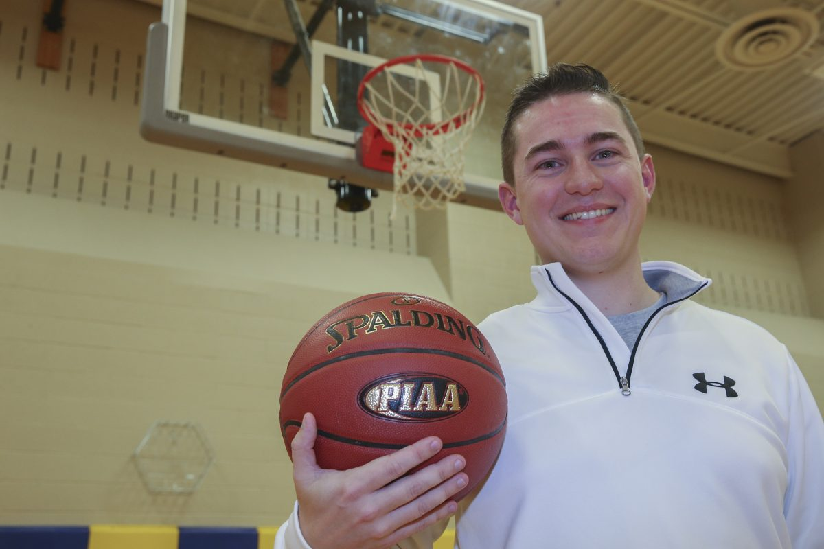 New Pope John Paul II girls' basketball coach Tom Lonergan Jr.