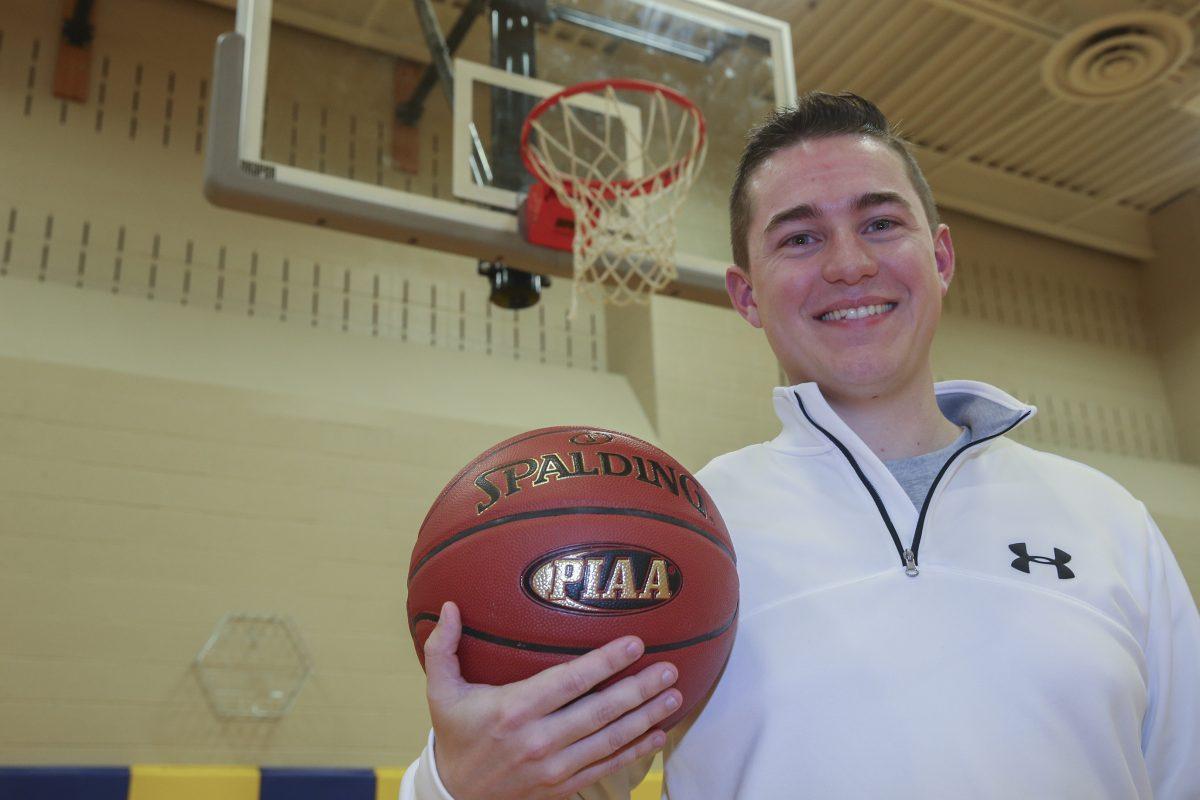 New Pope John Paul II girls' basketball coach Tom Lonergan Jr.