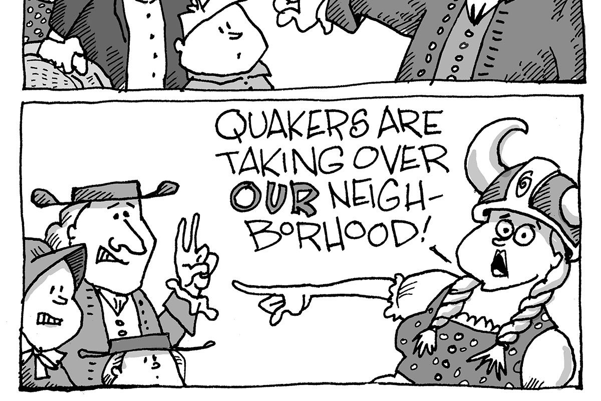 A short history of gentrification. (SIGNE WILKINSON)