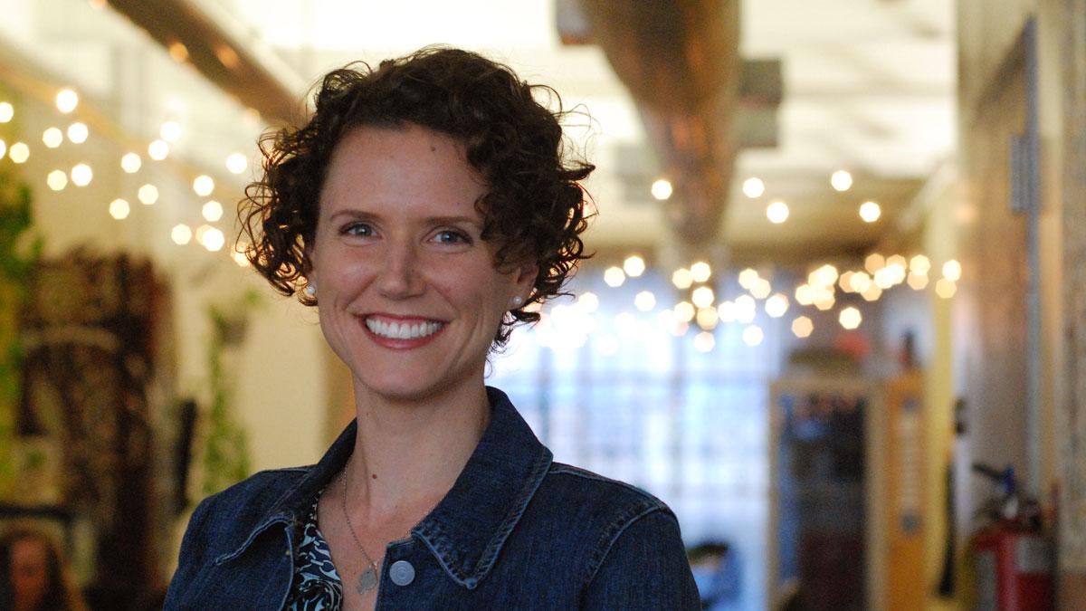 Freelance writer Kathryn Anne Stewart.