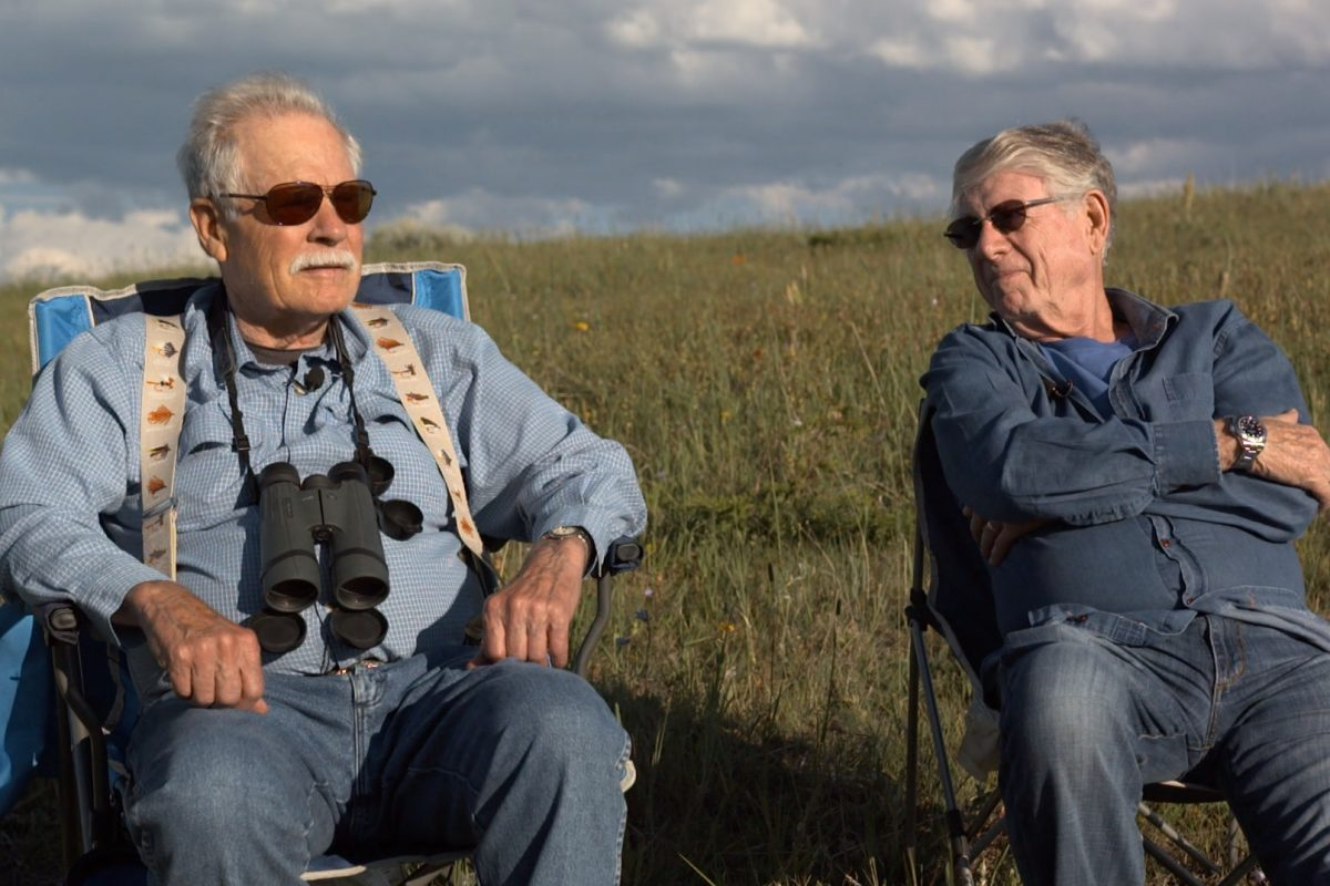 Ted Turner and Ted Koppel