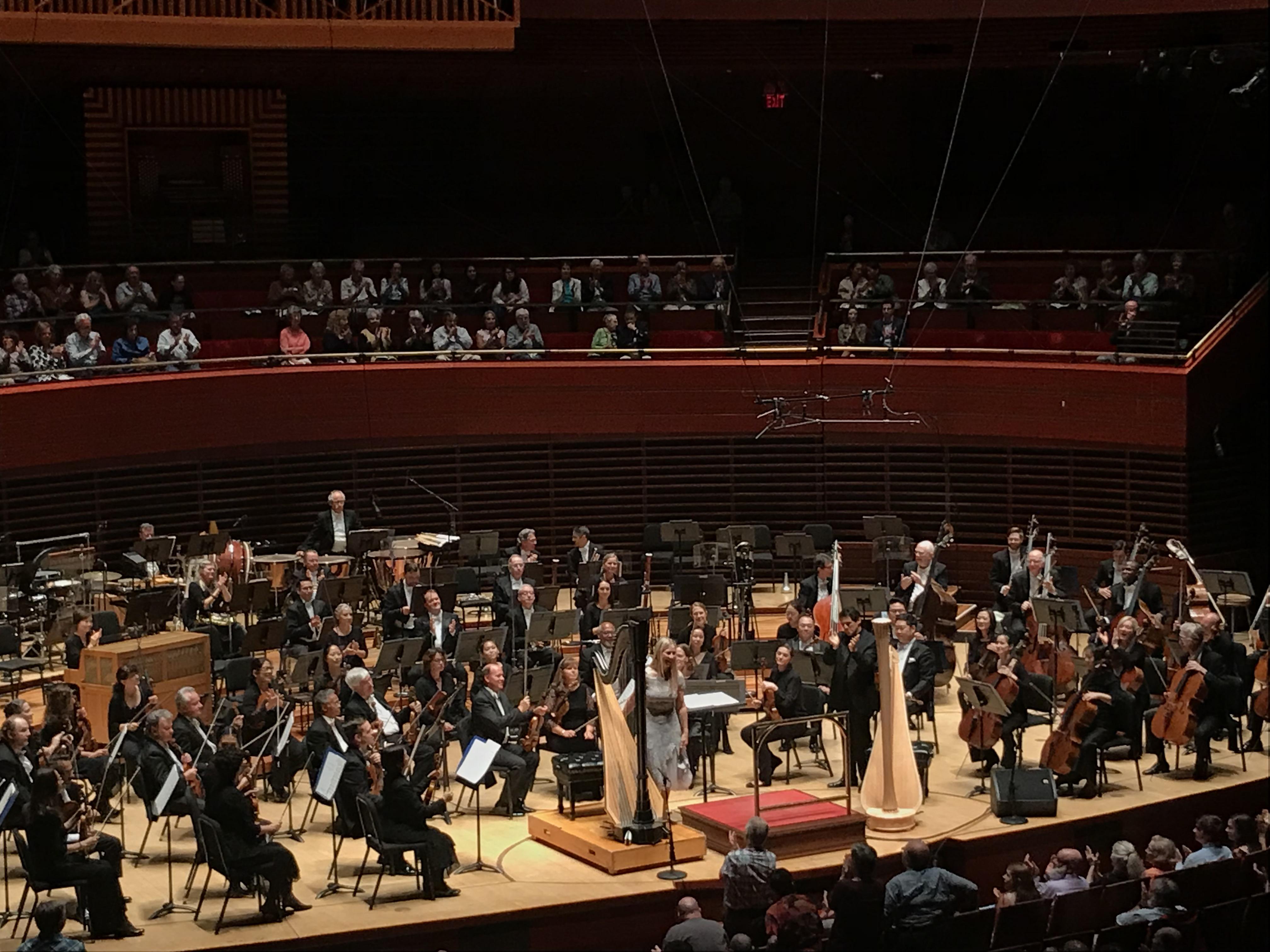 Philadelphia Orchestra principal harpist Elizabeth Hainen performed the Ginastera Harp Concerto Thursday night in Verizon Hall.