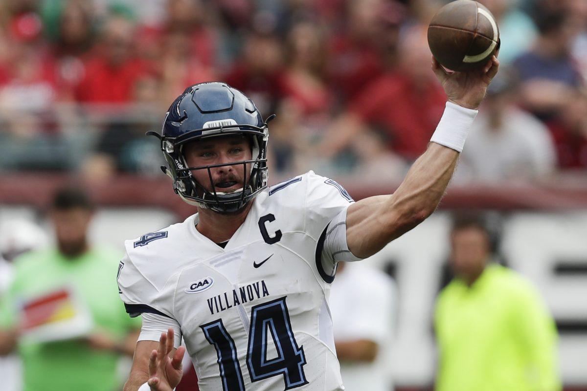 Villanova quarterback Zach Bednarczyk.