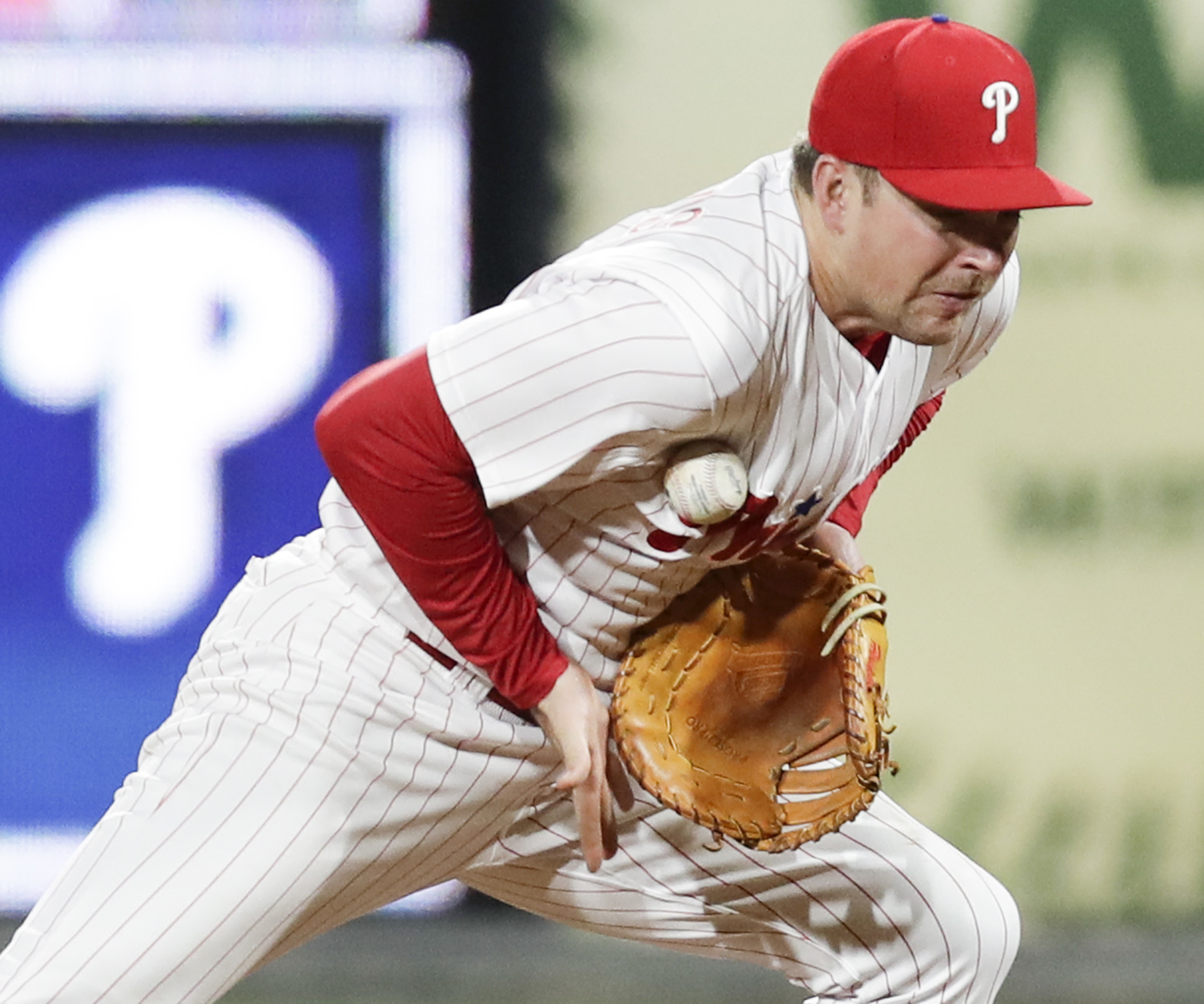 Whos on first for the Phillies? It could be Rhys Hoskins again in 2019.