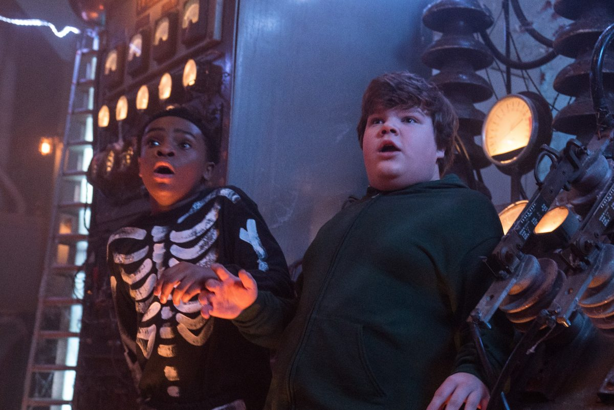 Caleel Harris and Jeremy Ray Taylor star in Columbia Pictures´ GOOSEBUMPS 2: HAUNTED HALLOWEEN.