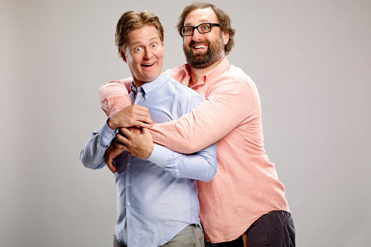 Tim Heidecker (left) and Eric Wareheim, the comedy duo Tim and Eric, met as film students at Temple University.