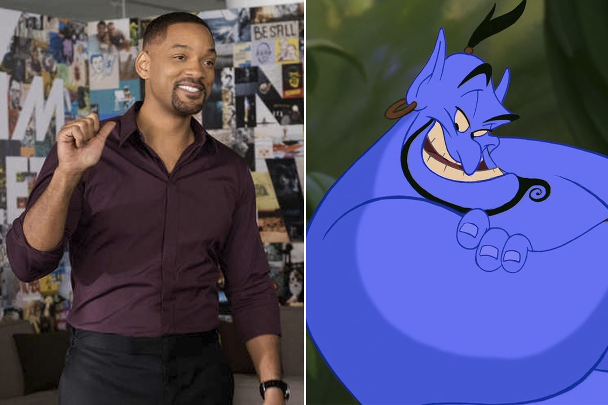Will Smith (shown here in 'Collateral Beauty') will play the role of Genie in the live action remake of 'Aladdin.'