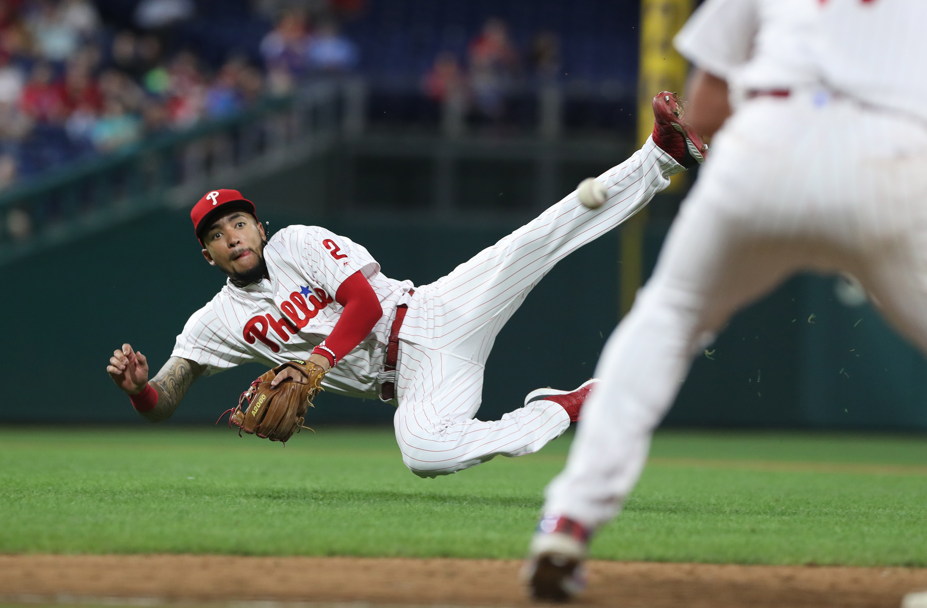 Young shortstop J.P. Crawford missed 101 games this season because of injuries.