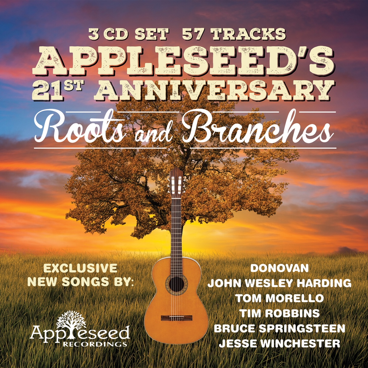 The cover of ´Appleseed's 21st Anniversary: Roots and Branches.´