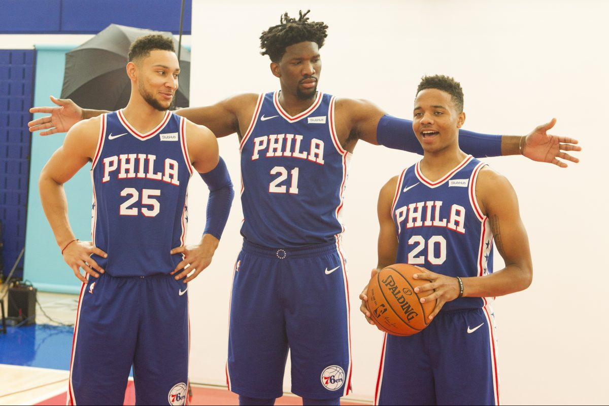 Where the Sixers finish in the Eastern Conference this season will rely heavily on the progression of Ben Simmons, Joel Embiid and Markelle Fultz.