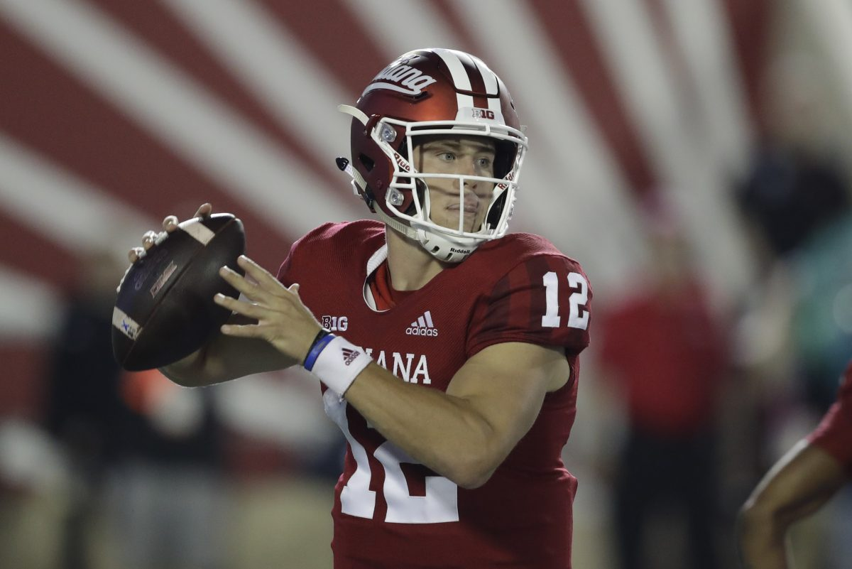 Quarterback Peyton Ramsey and the Indiana Hoosiers absorbed a beating by  Iowa last week.