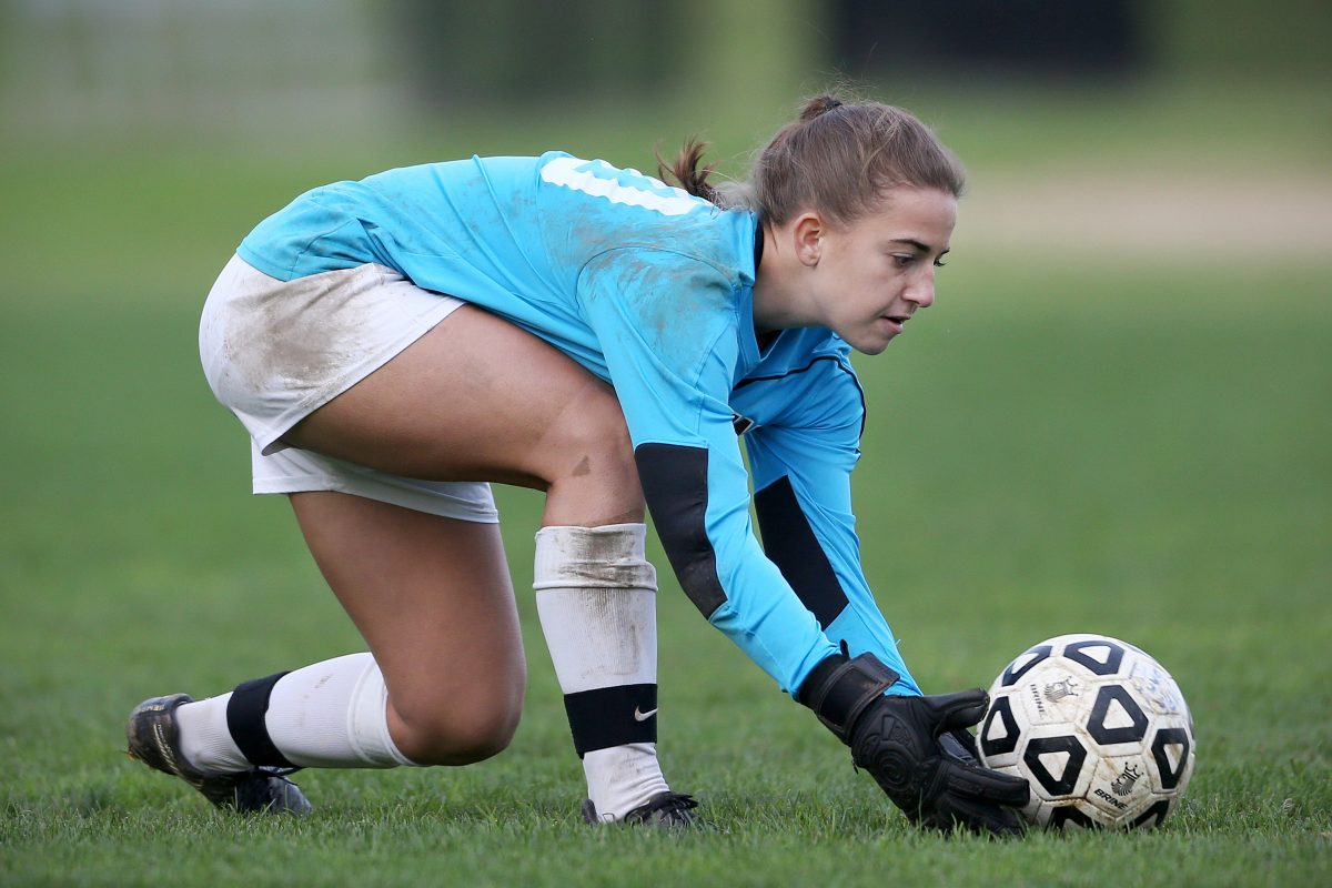 Westtown goalie Natalie Neumann has been a starter since her freshman season.