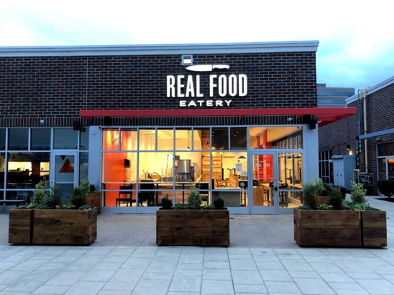 Real Food Eatery�s location at 4040 City Ave., near a Target.