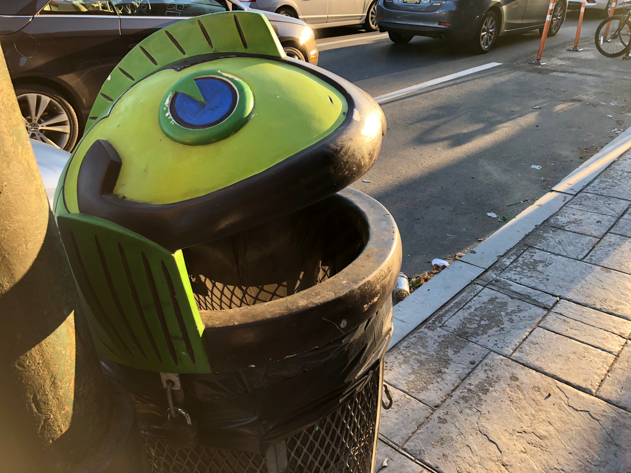 "The Fishtown Neighbors Association created the ""Feed the Fish"" program, which asks residents and business owners to adopt trash cans covered with fish heads."