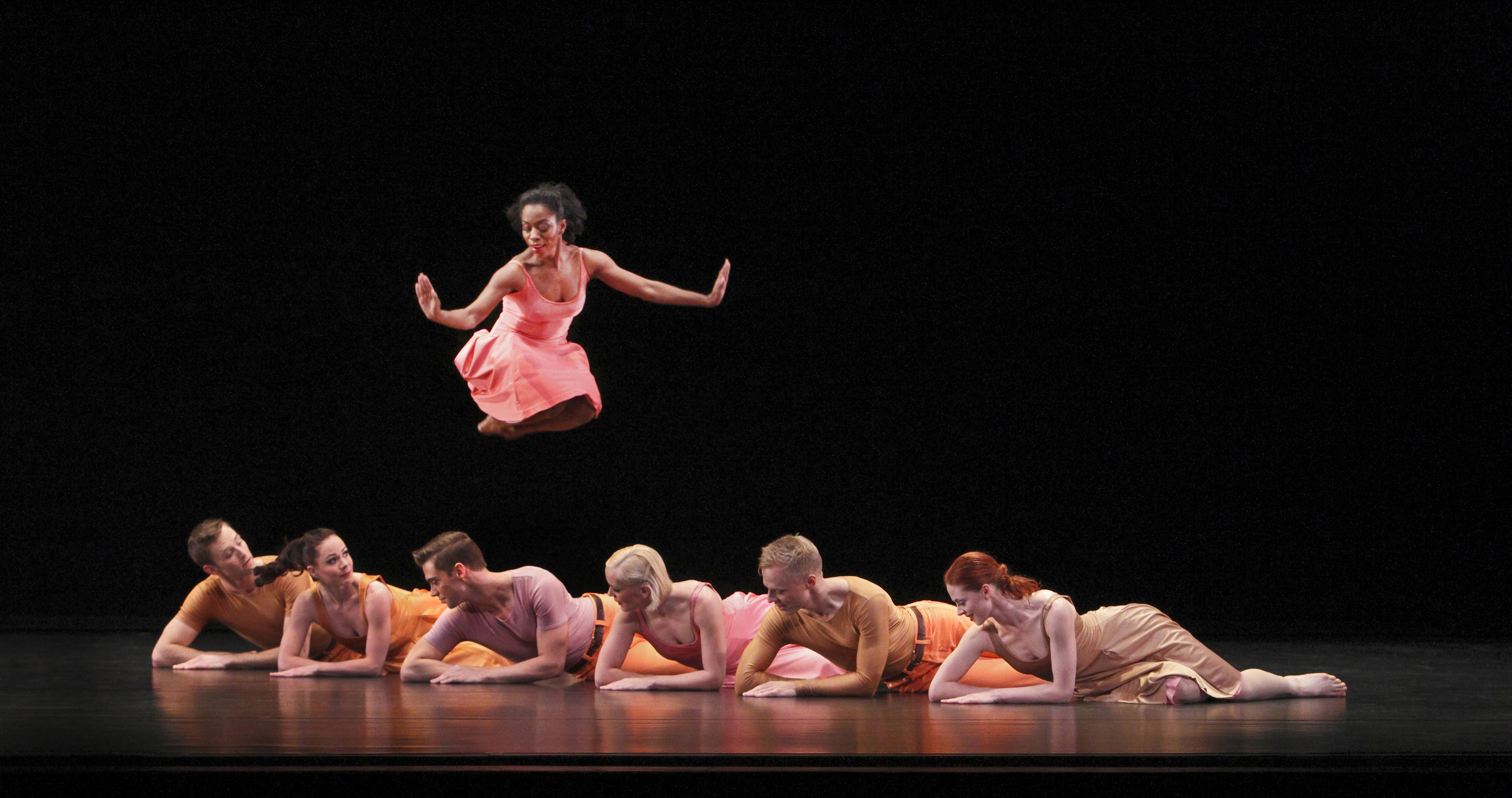 """Michael Novak, third from left in Paul Taylor´s """"Esplanade,"""" is artistic director of the Paul Taylor Dance Company."""