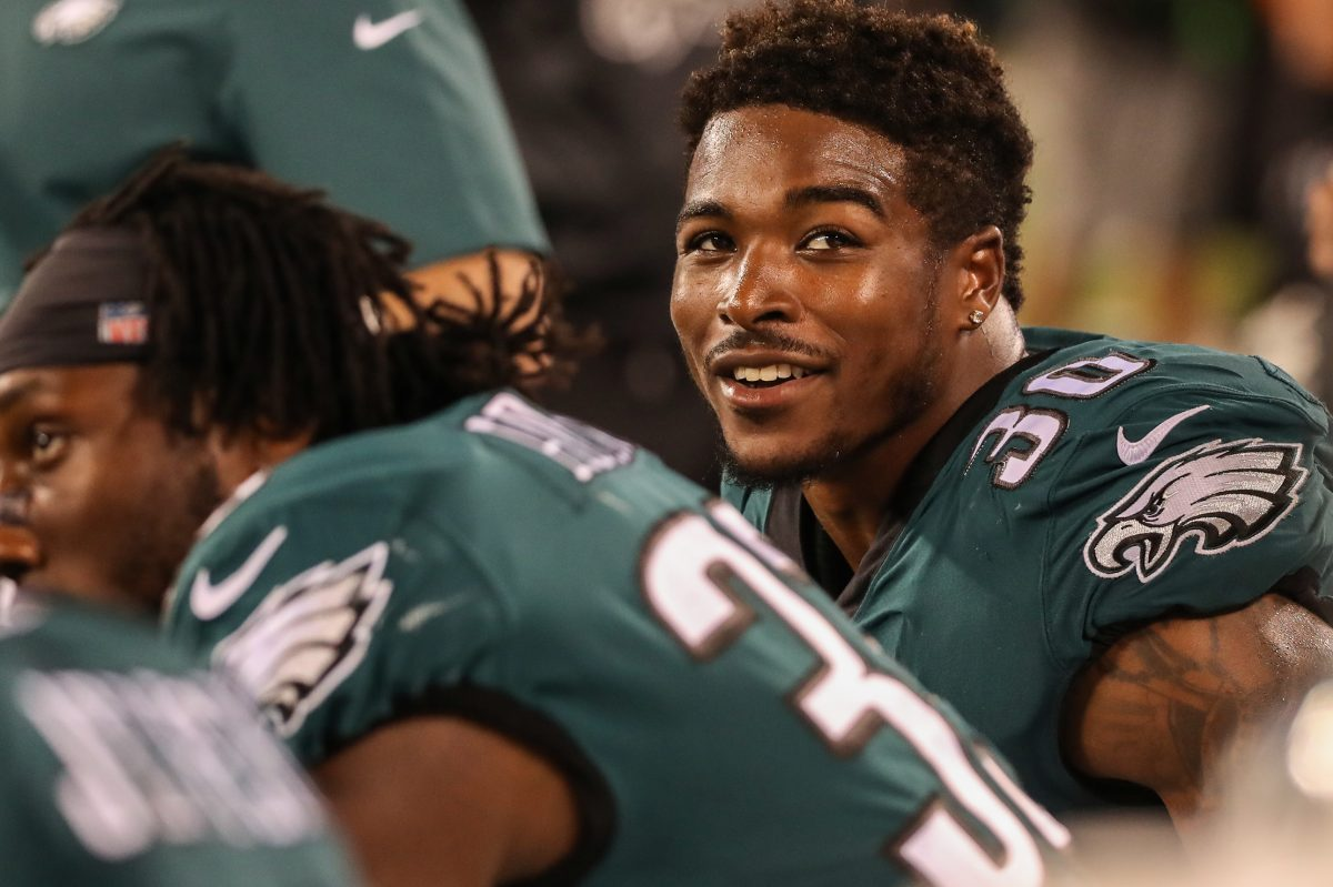 Corey Clement wants to prove to the Philadelphia Eagles´ front office that they don´t need to trade for another running back.