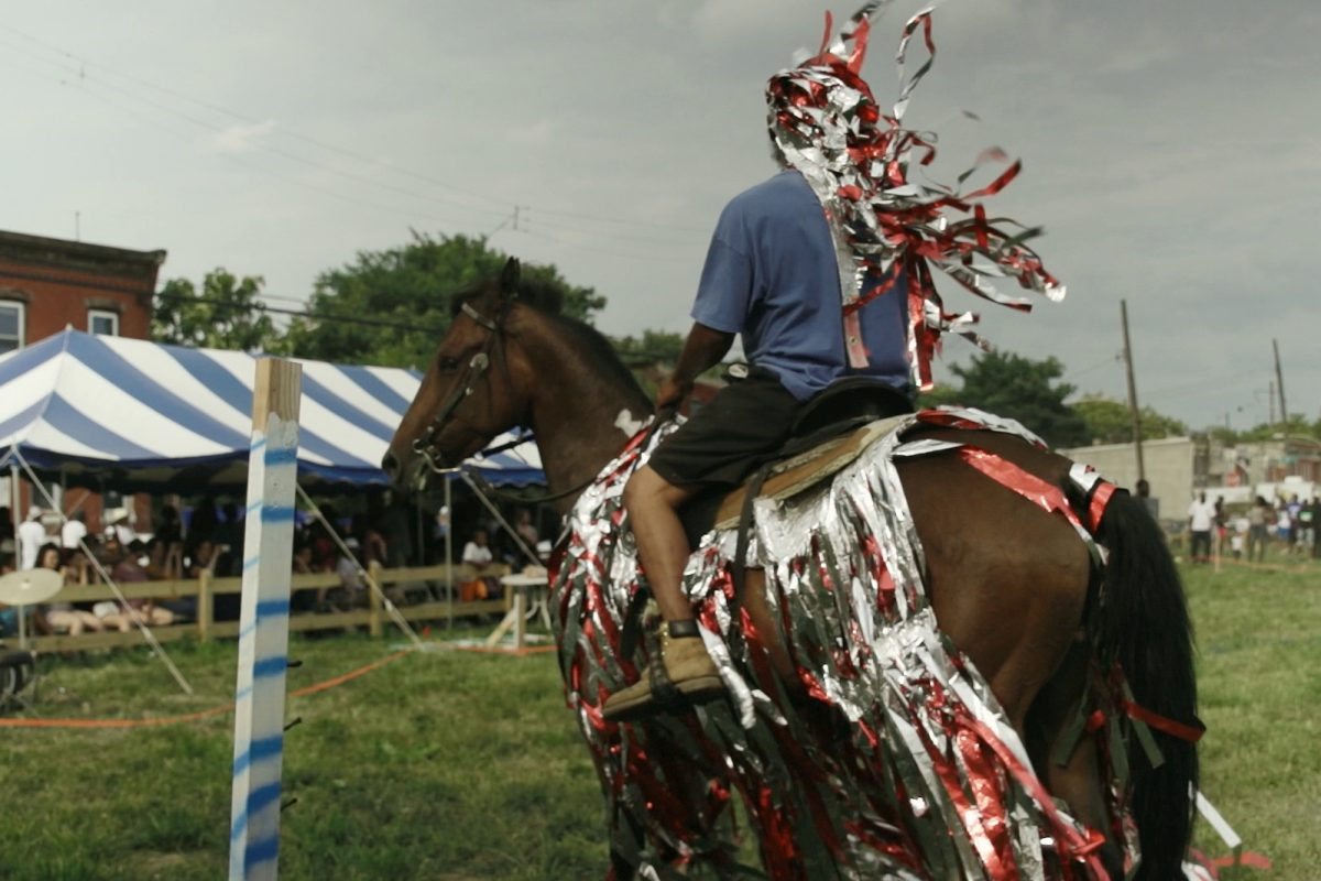 Mohamed Bourouissa, Horse Day, 2015. Stills. Vidéo diptyque. 13 minutes 28. © ADAGP Mohamed Bourouissa. Courtesy the artist and kamel mennour, Paris/London.