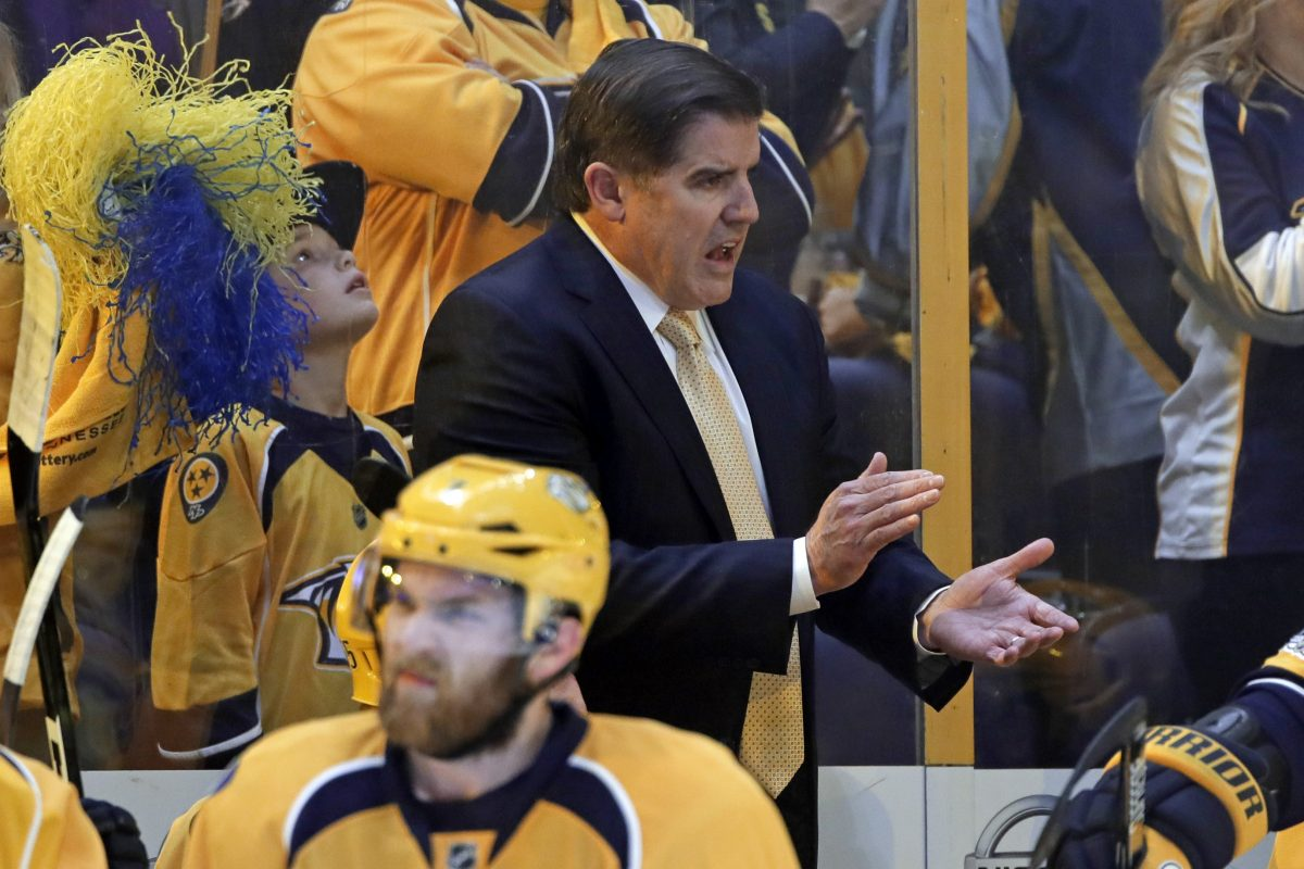 Peter Laviolette is going to the Stanley Cup Final for the first time since taking the Flyers there in 2010.