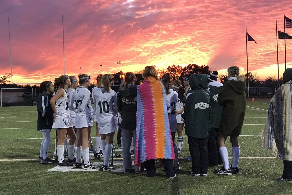 The Methacton field hockey team beat Council Rock North, 5-0, in the District 1 Class 3A playoffs on Monday.