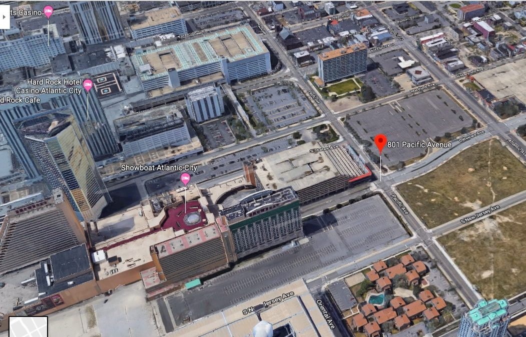 Philly developer Bart Blatstein wants to convert the Showboat tower closest to Pacific Avenue into 264 rental apartments.