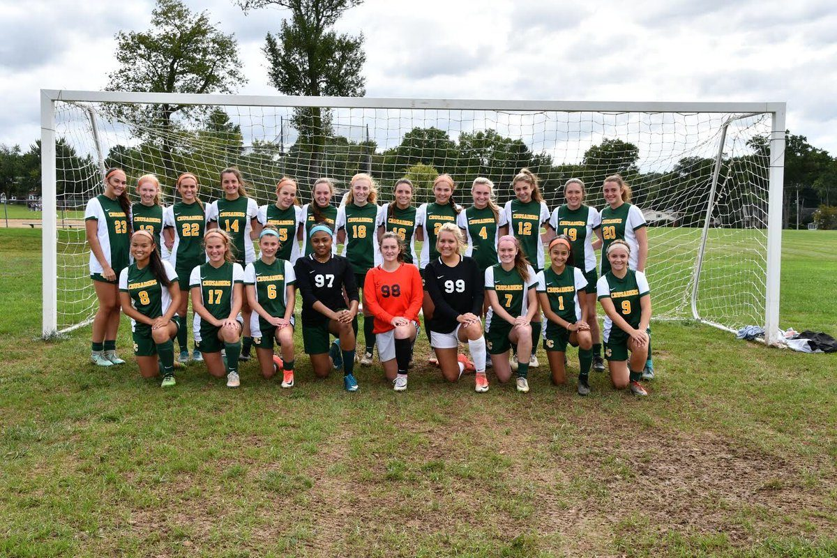 The Lansdale Catholic girls' soccer team won 2-1 over Little Flower in the Catholic League semifinals on Tuesday.