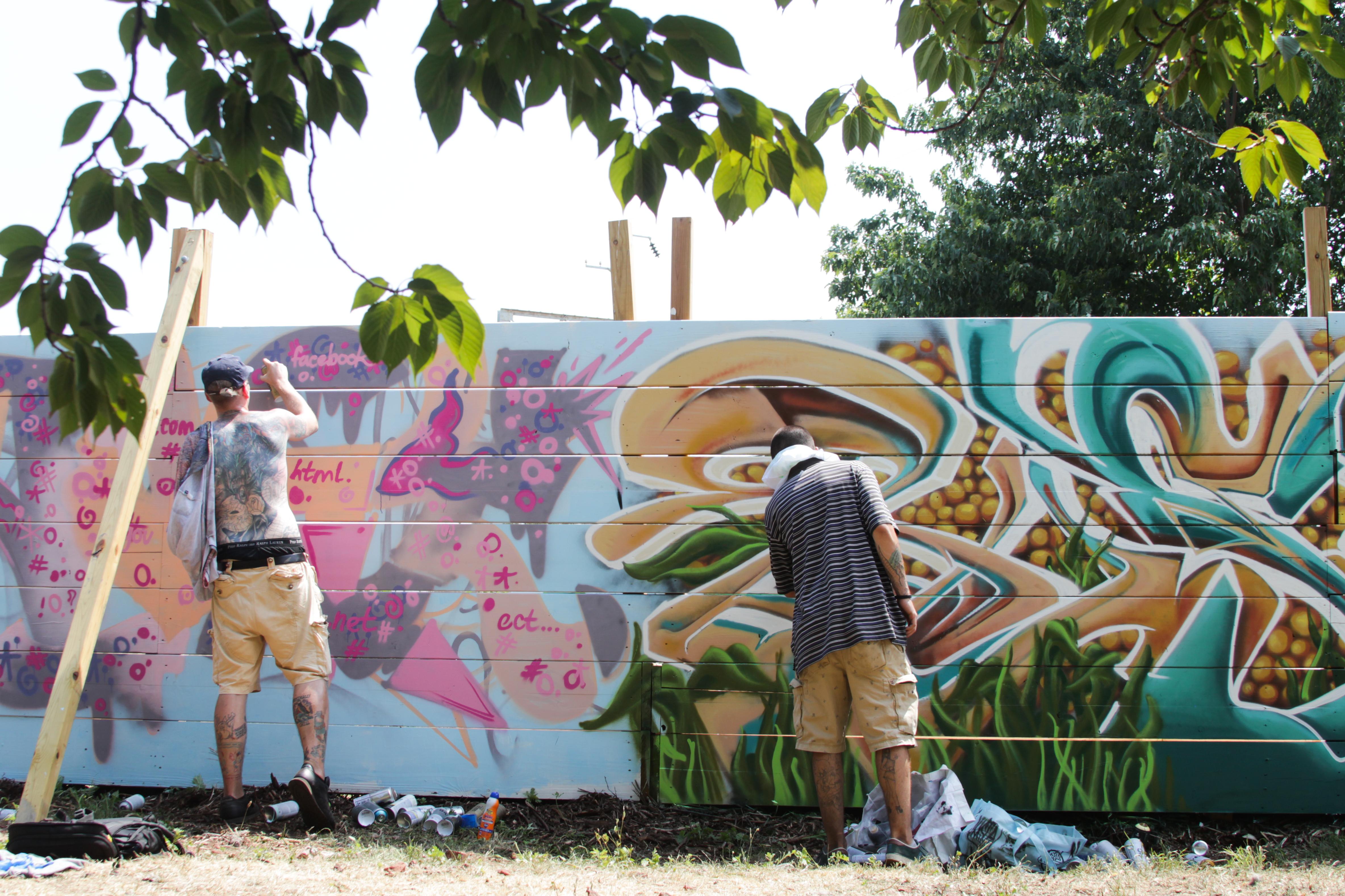 Urban Creators hosts 4th Annual HOODSTOCK Festival at 11th & Dauphin.