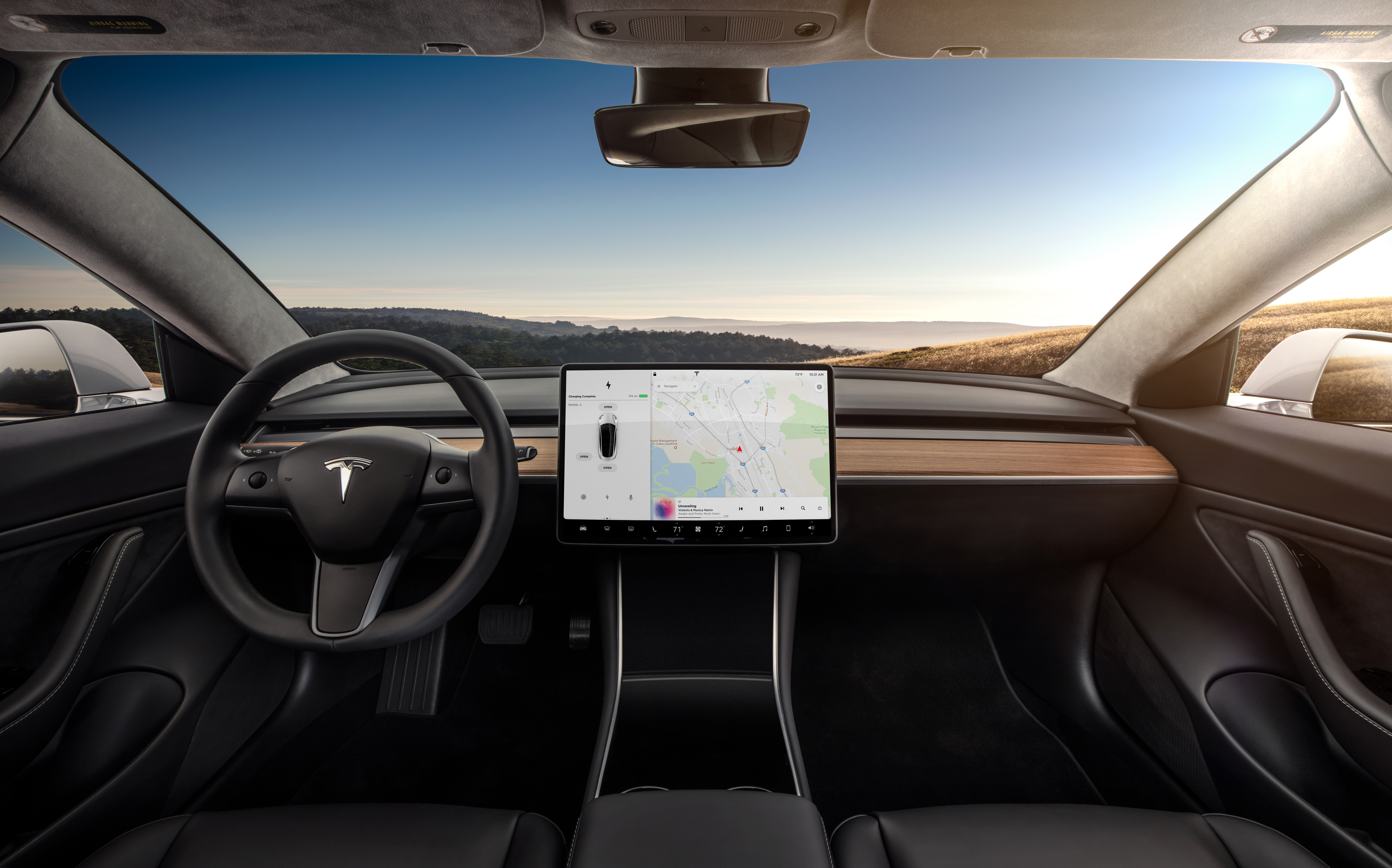 The 2018 Tesla Model 3 looks quite unlike other cars inside. But is the all-touchscreen interface as annoying as some, or something better?