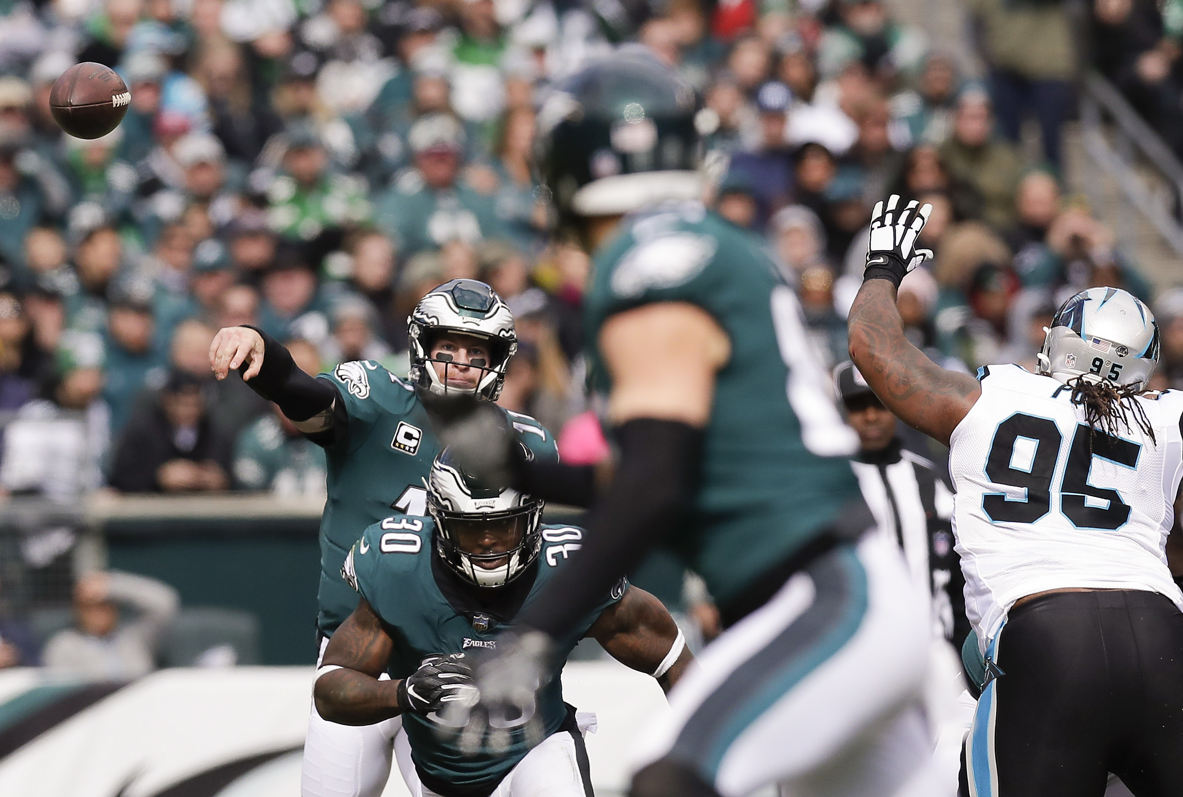 Doug Pederson still has the utmost of confidence in his quarterback at the end of the game.