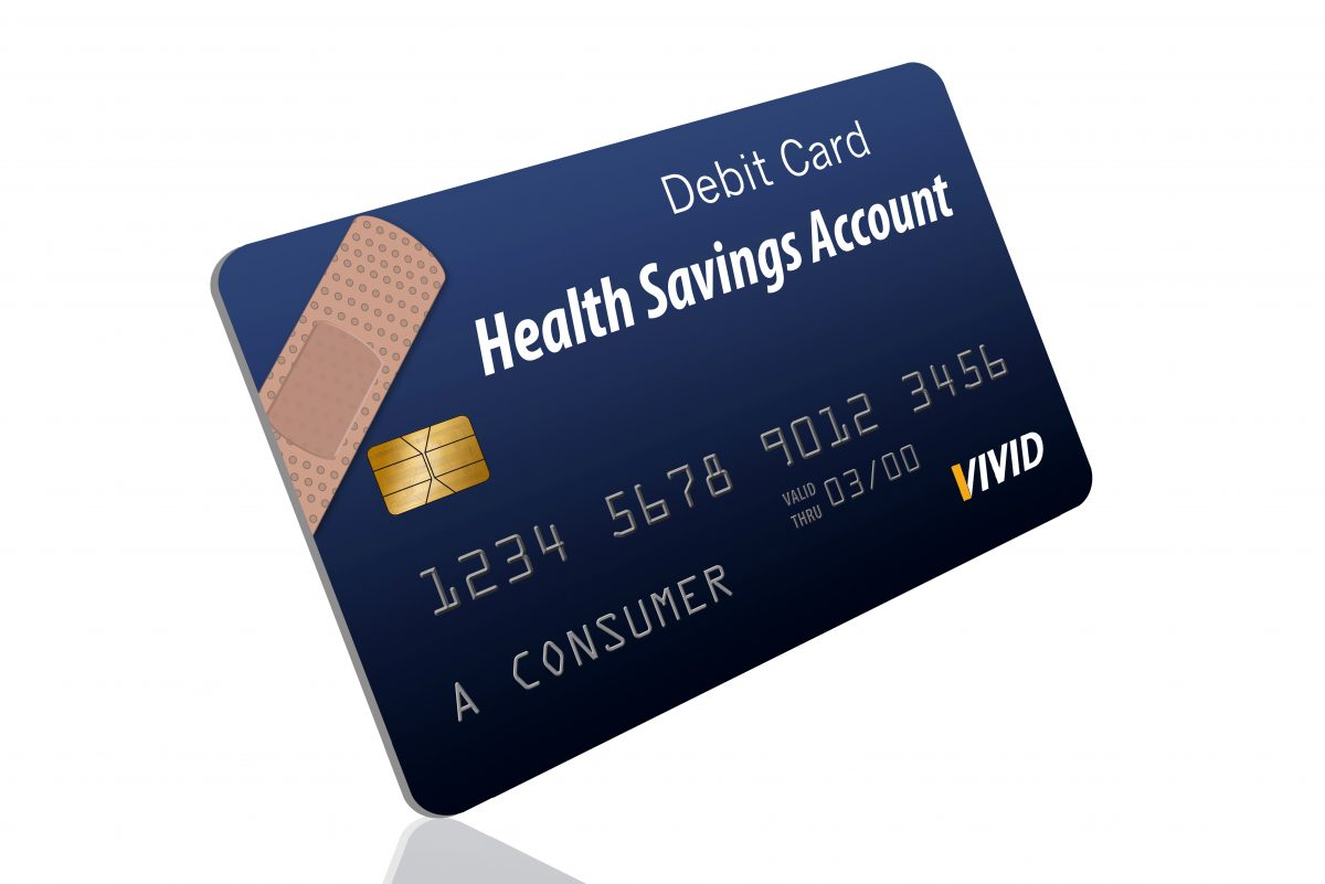 This is a generic HSA Healthcare Savings Account debit card for paying medical expenses.